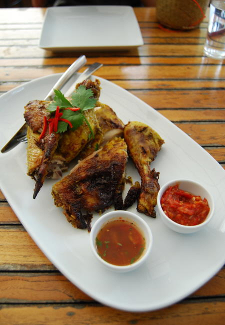 Thai-style barbecued chicken - gai yang
