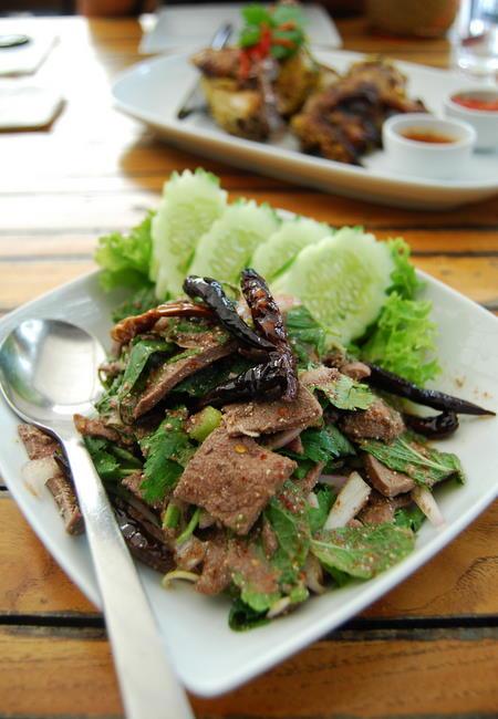 Pork liver salad - dub waan